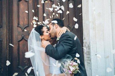 99 baisers de mariés à copier pour vos photos de mariage