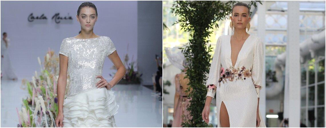 Vestidos de noiva com pedraria: muito luxo e glamour!