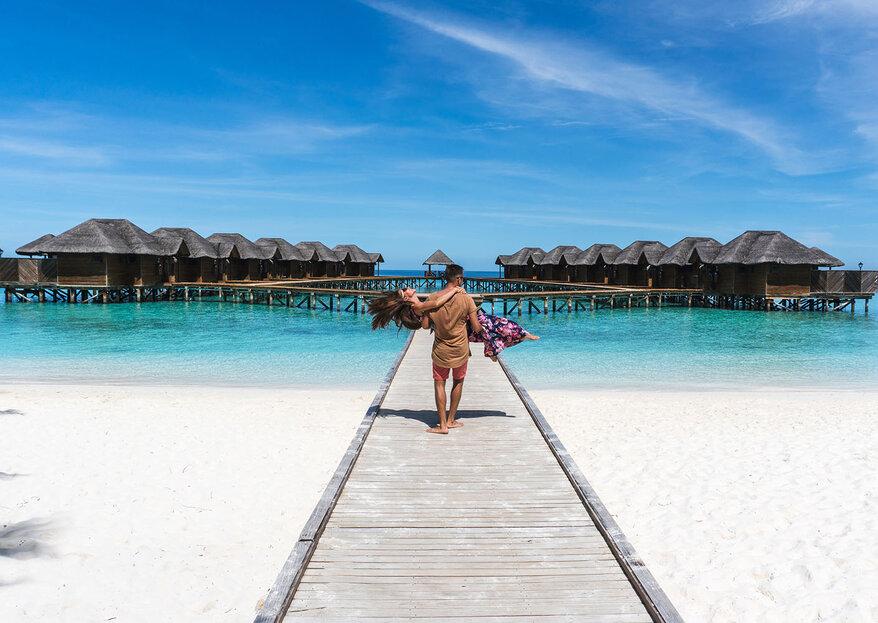 Logitravel: uma lua-de-mel longe da realidade, com luxo, praia, natureza e muita paz de espírito