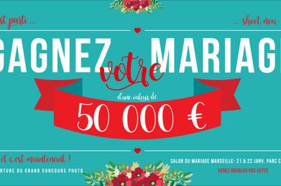 Gagnez votre mariage d'une valeur de 50 000 euros avec le Salon du mariage de Marseille & Zankyou!