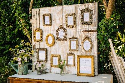 Como tirar partido dos indicadores de mesa para decorar o seu casamento