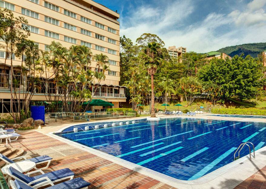 El Hotel InterContinental Medellín y el deleite de casarse en esta ciudad