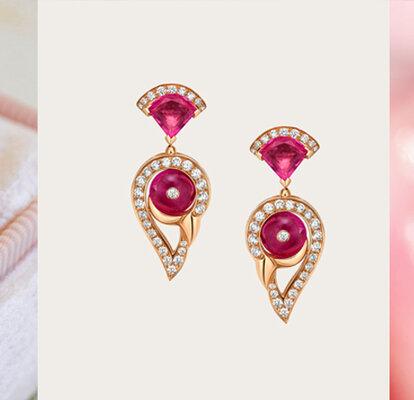 36fec39fc07c Joyas de oro rosa para novia. ¡El toque femenino que necesitas para  completar tu look!