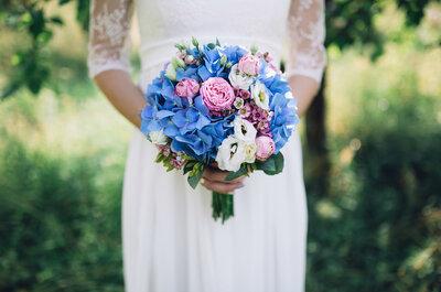 ¿Qué flores usar en el ramo según la época del año? ¡Entérate y comienza a combinar para tu boda!
