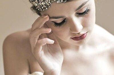 Hairstyling 2014: Ideen für Brautfrisuren mit Haarschmuck