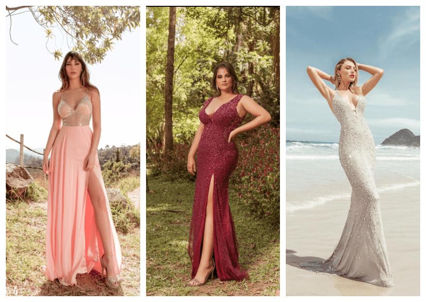 Fino Traje: vestidos de festa perfeitos para mulheres que não abrem mão da elegância e sofisticação