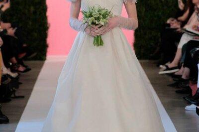 Espectaculares vestidos de novia de Óscar de la Renta 2015