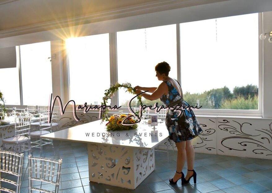 Mariapia Speranzini - Wedding & Events, organizzare il tuo matrimonio con il sorriso