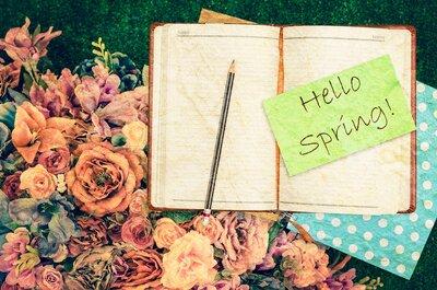 5 Tips to make your Spring wedding shine!