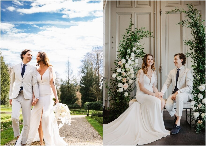 Spring Wedding Styled Shoot in Oranjerie Hydepark