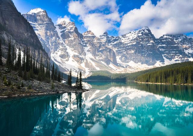 Медовый месяц в Канаде: самый чистый уголок Америки!