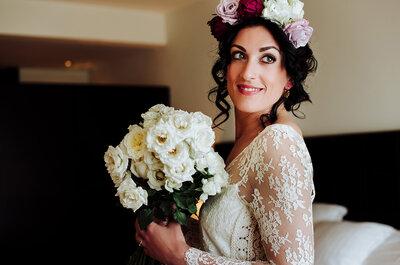 En tu boda... ¡preocúpate solo por sonreír!