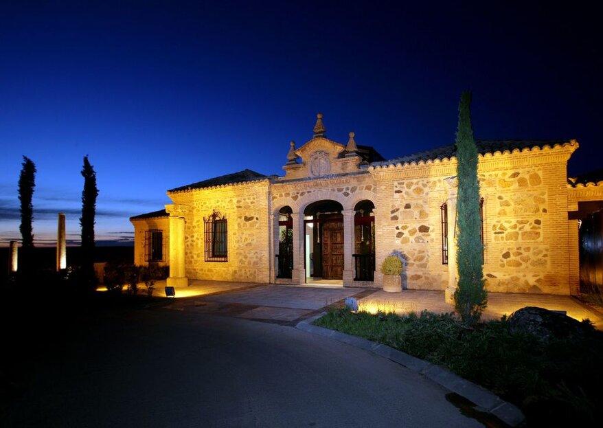 Hotel Cigarral El Bosque: celebraciones con encanto histórico en la ciudad de Toledo