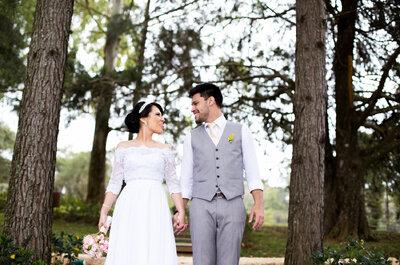 Casamento de Bruna & Luis Fellipe: no campo, diurno, mágico!