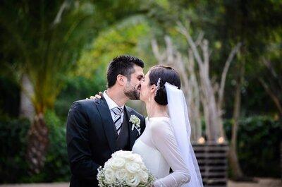 Feliz de compartir mi vida para siempre contigo: la boda de Marian y Jordi