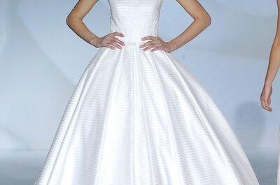 La esencia de la feminidad se magnifica en los vestidos de novia primavera 2015 de Jesús Peiró