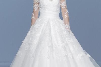 Muestra un poco de piel con un estilo genial: Conoce la tendencia de los vestidos de novia 2015 con hombros caídos