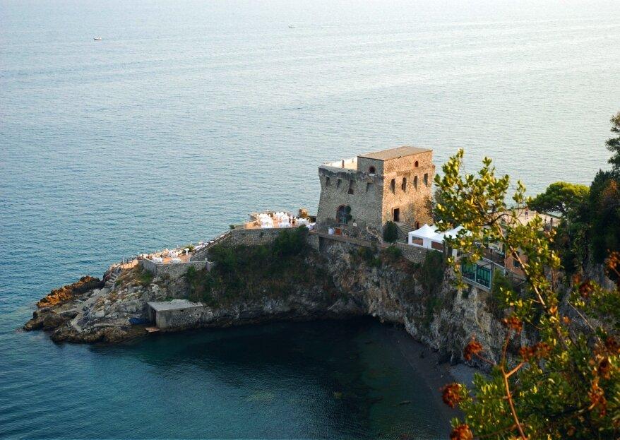 Torre La Cerniola: il tuo matrimonio in una location contesa tra mare e cielo