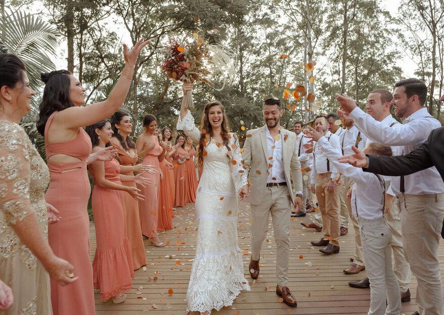 Casamento na fazenda ou no sítio: locais inspiradores para sua troca de votos!