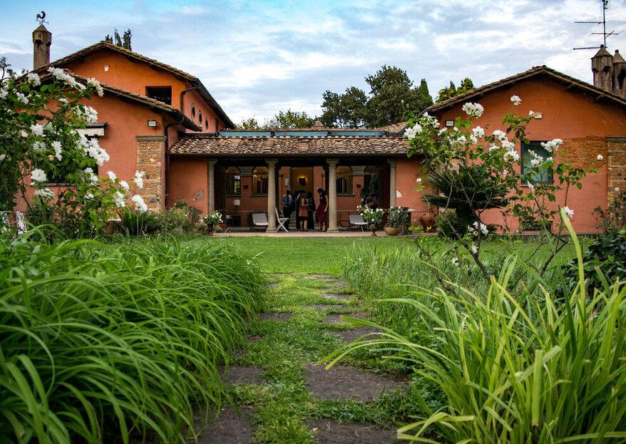 Villa Parco Iris: una location nuziale non convenzionale ma ricca di pathos!
