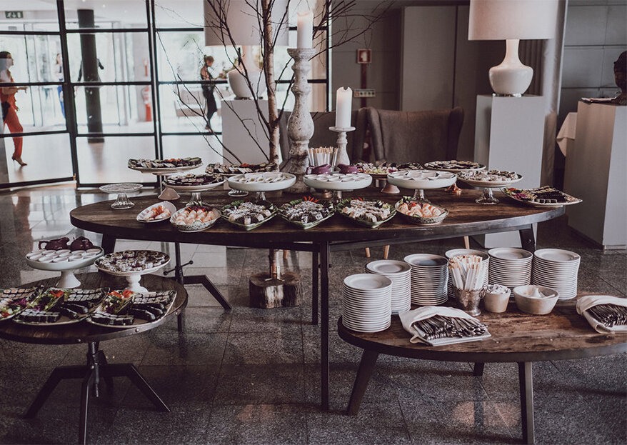 11 dos melhores caterings em Portugal para um casamento lindo e delicioso!