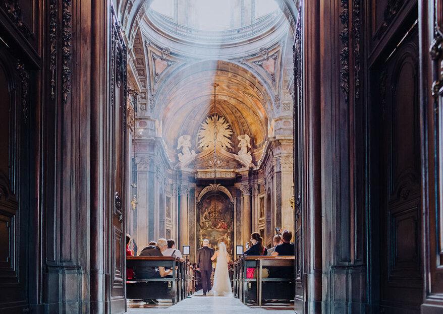 10 perguntas (que todas nós fazemos) acerca da cerimónia religiosa