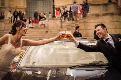 ¿Cómo trabaja un fotógrafo de bodas profesional?