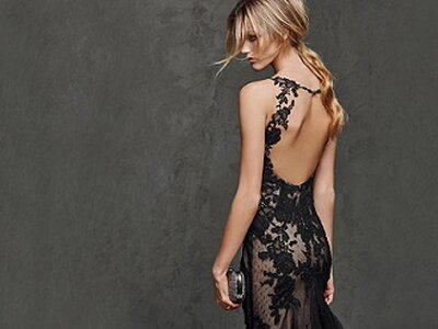 Black is back for the most elegant wedding guests
