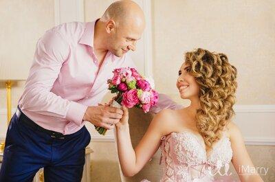 Чувственная и изысканная свадьба Misha&Dalya