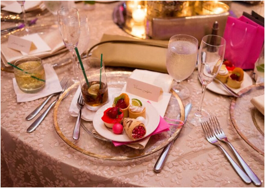 El menú de boda ideal: ¡5 pasos para escogerlo y deleitar los sentidos!