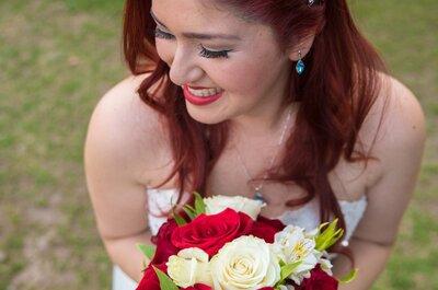 ¿Labios rojos para el día de tu boda? ¡Apuesta por este toque de color!