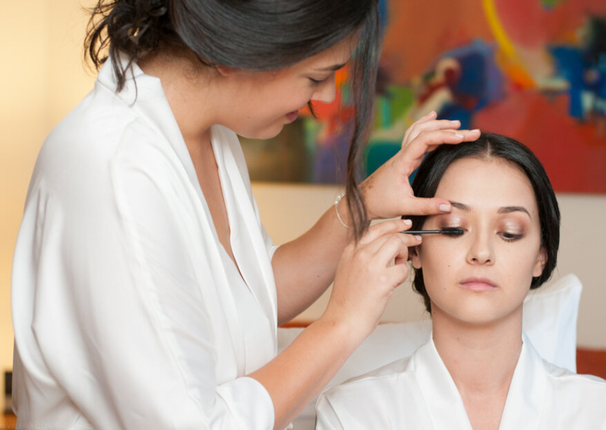 Los 11 errores que no debes cometer con el maquillaje de boda: ¡toma nota!