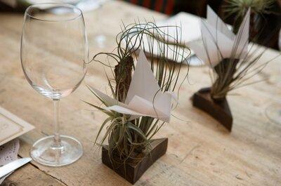 4 recordatorios de boda ecológicos que le van a fascinar a tus invitados