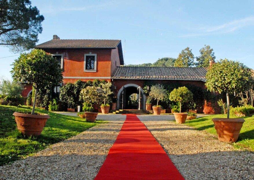Casale della Muletta, 200 anni di storia per la tua storia d'amore!