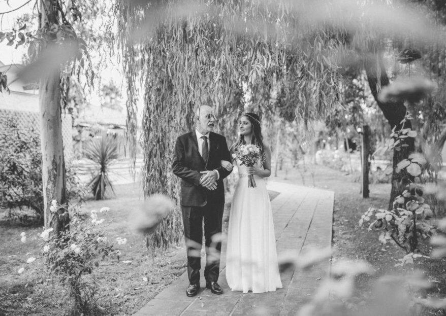 El papel del padre de la novia durante el matrimonio. ¡Descubre su importancia en este gran día!