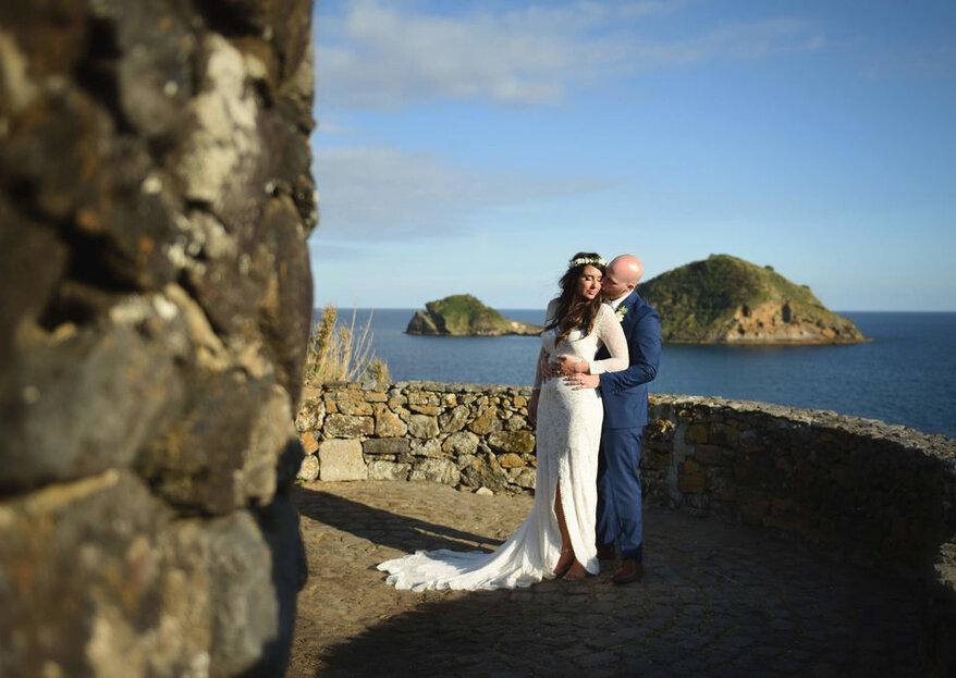 Ambiance Wedding Azores: a magia dos Açores no seu destination wedding tão português