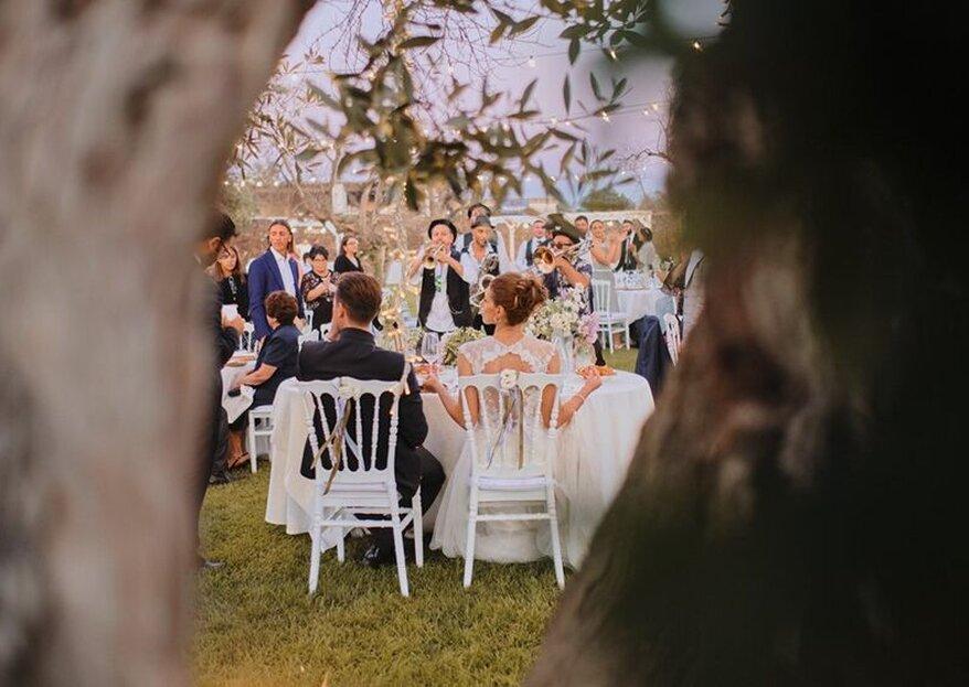 Quante location avete già in mente di vedere per scegliere quella delle vostre nozze? Non perdetevi queste!