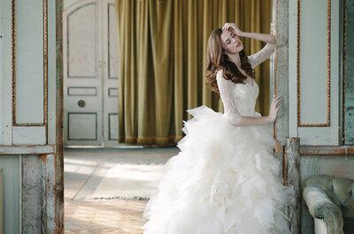 Opulencia en los vestidos de novia de Sareh Nouri primavera 2015