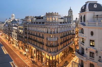 Los 9 mejores hoteles de diseño para celebrar una boda en Madrid