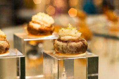 Transforme o buffet do seu casamento em uma viagem de sabores para os seus convidados
