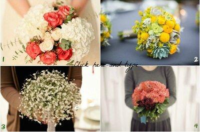 Top 5 tendências bouquets de noiva 2013: fomos perguntar a quem sabe