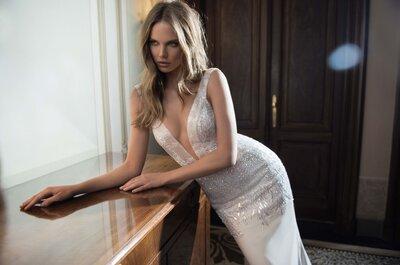 Os vestidos de noiva mais sexy, deslumbrantes e sensuais 2015-2016 de estilistas israelenses