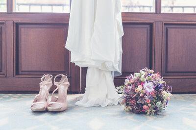 ¿Zapatos con o sin taco para novias? ¡Las lectoras responden!