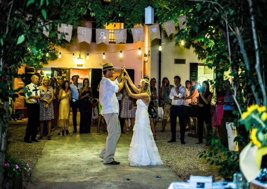 Uno stile che contraddistingua le diverse fasi musicali delle vostre nozze!