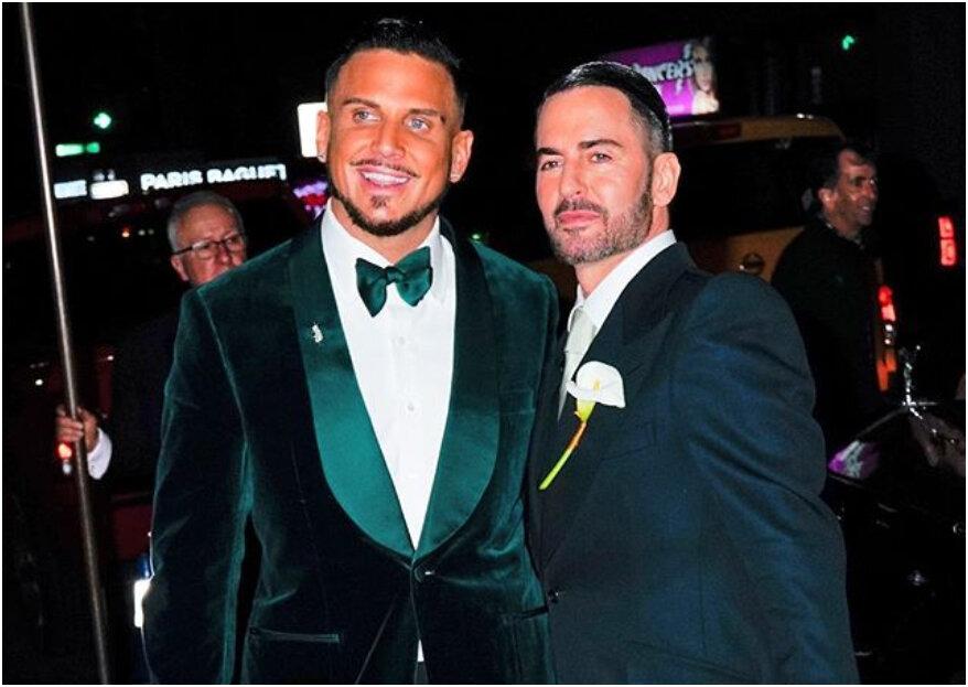 Modedesigner Marc Jacobs heiratet Char Defrancesco in New York