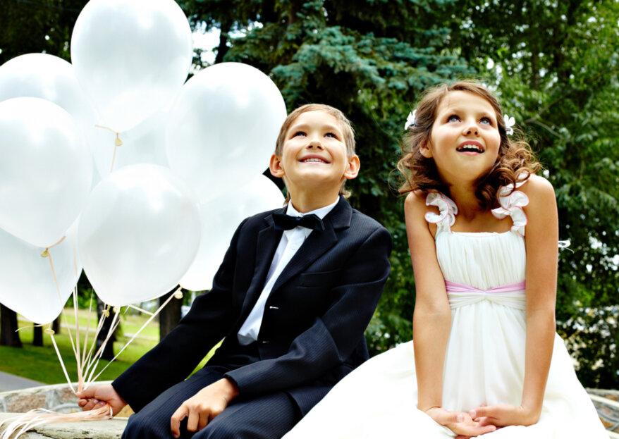 ¿Cómo se visten los adolescentes invitados a una boda?