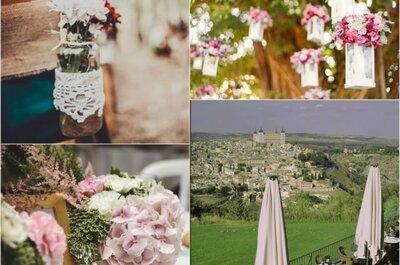 10 increíbles formas de decorar tu ceremonia: ¿con cuál te quedas?