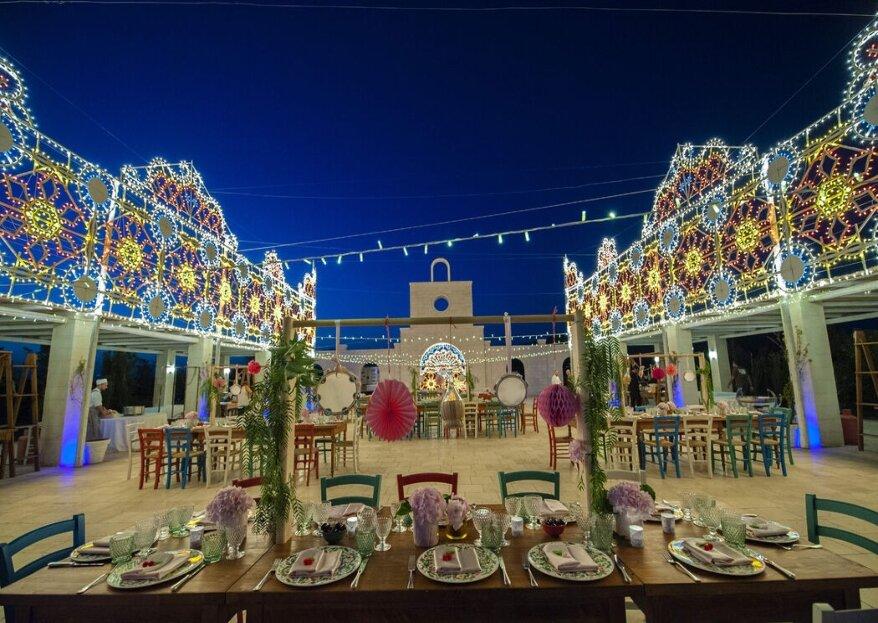 Tenuta San Domenico, splendida cornice settecentesca per un romantico matrimonio d'altri tempi!
