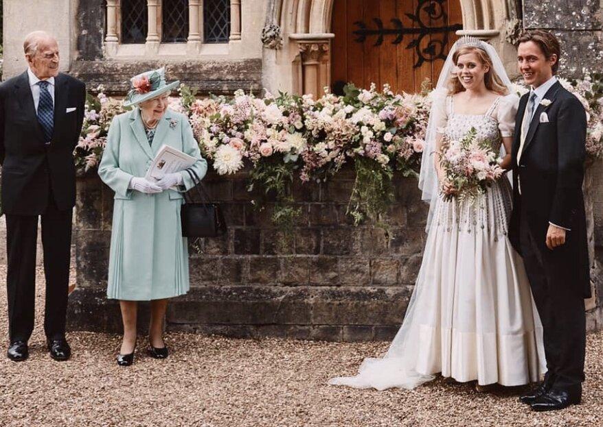 Prinzessin Beatrice hat im kleinen Kreis geheiratet