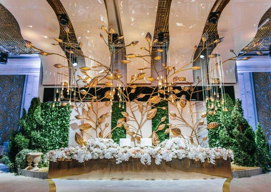 Cómo decorar tu matrimonio: ¡5 ideas geniales para una ambientación perfecta!